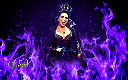 Once Upon A Time wallpaper titled The Evil Queen