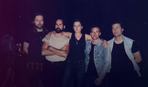 The Killers with someone