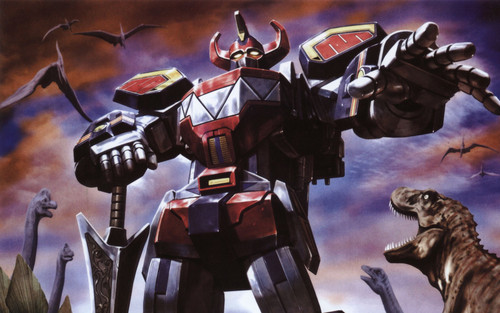 Giant Robots wallpaper titled The Megazord