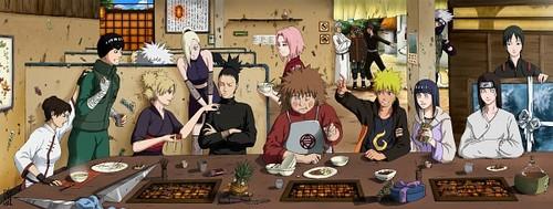 The Naruto Shippuuden Crew