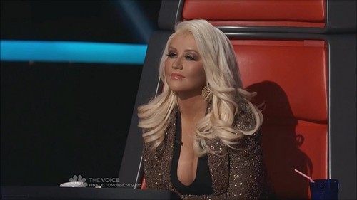 The Voice Season II Episode 20 (7 May 2012) - christina-aguilera Photo