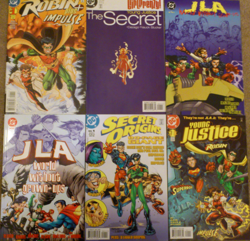 The first 6 issues of Young Justice