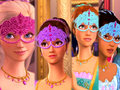 The girls at the Masquerade Ball - barbie-and-the-three-musketeers fan art