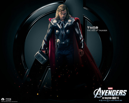 The Avengers wallpaper titled Thor