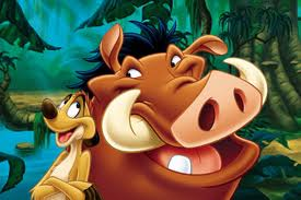 disney wallpaper with anime entitled Timon and Pumbaa