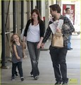 Tobey Maguire: Children's Museum of Modern Art with Family! - tobey-maguire photo