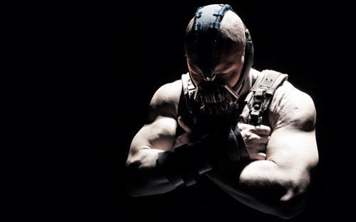 Tom Hardy as Bane in 'The Dark Knight Rises' (HQ)