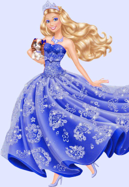 Tori wears blue dress - barbie-movies Fan Art