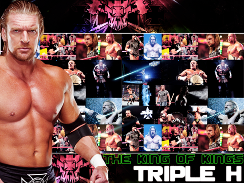 Triple H The King Of Kings Wallpaper