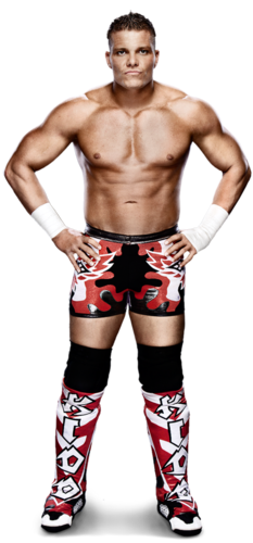 WWE wallpaper possibly containing a hunk, a six pack, and skin titled Tyson Kidd