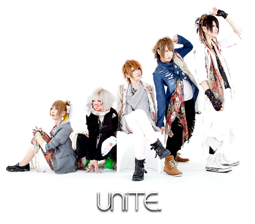 "UNiTE ""ユナイト"" fond d'écran probably with an outerwear, a well dressed person, and a box manteau entitled UNiTE ""ユナイト"""