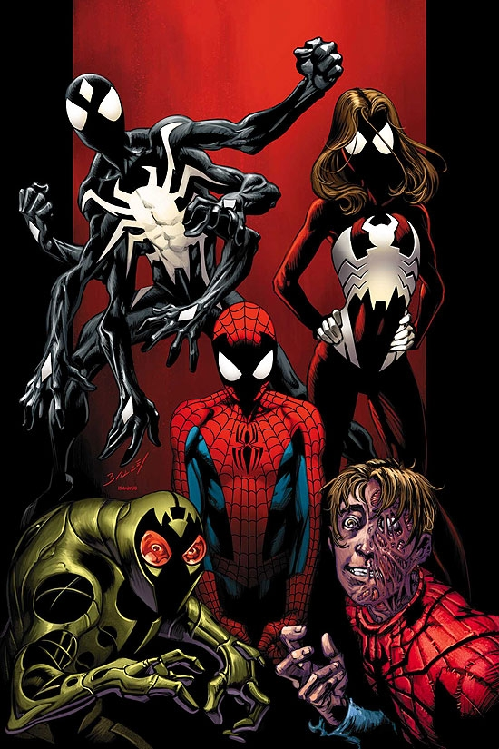 Ultimate Spider-man Ultimate Clone SagaUltimate Spiderman And Spiderwoman
