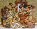 Vintage Teddy Bears - vintage photo