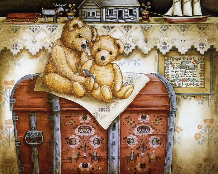 Vintage Images Vintage Teddy Bears Wallpaper And Background Photos