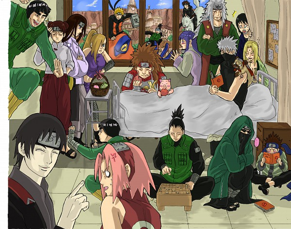 Naruto Shippuuden Visiting HoursNaruto Shippuden Zerochan