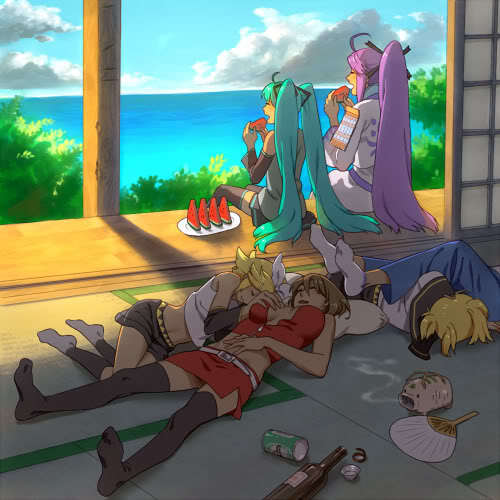 Vocaloid fam - vocaloid-rp Photo