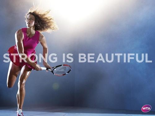 Yanina Wickmayer in Strong Is Beautiful