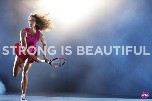 Yanina Wickmayer in Strong Is Beautiful