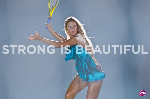Victoria Azarenka in Strong Is Beautiful - wta Photo
