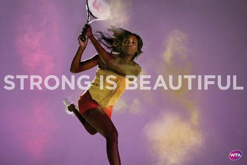 Venus Williams in Strong Is Beautiful