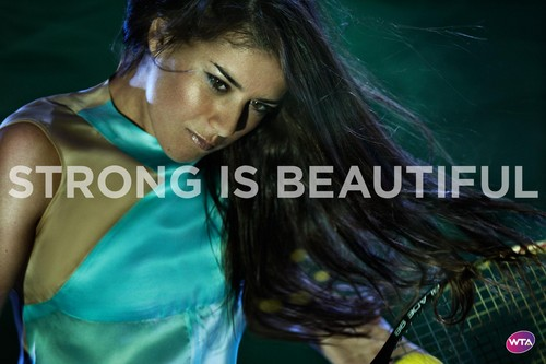 Sorana Cîrstea in Strong Is Beautiful