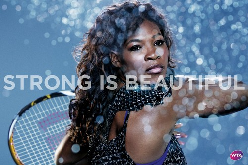 Serena Williams in Strong Is Beautiful