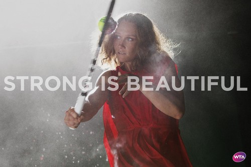 Samantha Stosur in Strong Is Beautiful