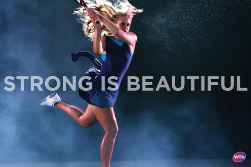 Sabine Lisicki in Strong Is Beautiful