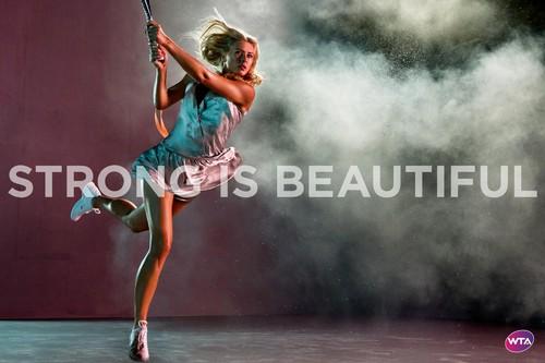 Maria Sharapova in Strong Is Beautiful