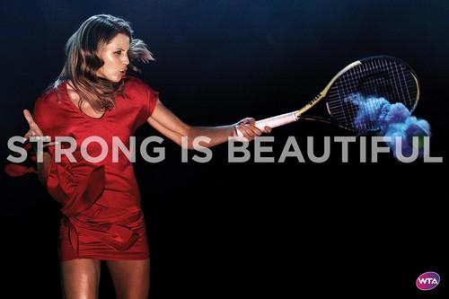 Lucie Šafářová in Strong Is Beautiful