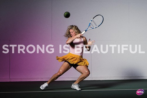 Kim Clijsters in Strong Is Beautiful
