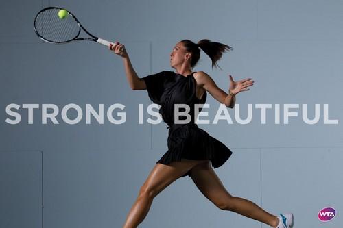 Jelena Janković in Strong Is Beautiful