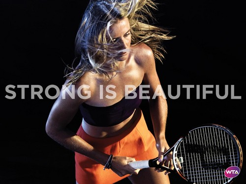 Daniela Hantuchová in Strong Is Beautiful