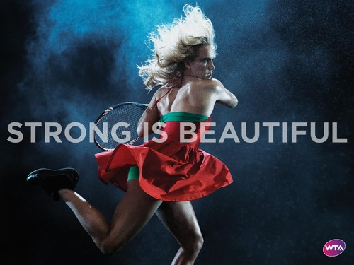 Bethanie Mattek-Sands in Strong Is Beautiful