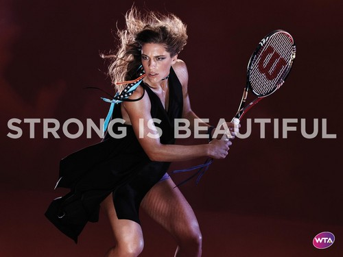 Andrea Petkovic in Strong Is Beautiful