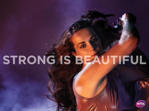 Anastasia Pavlyuchenkova in Strong Is Beautiful