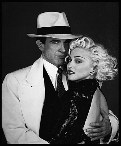 Warren Beatty Warren and MadonnaWarren Beatty Madonna