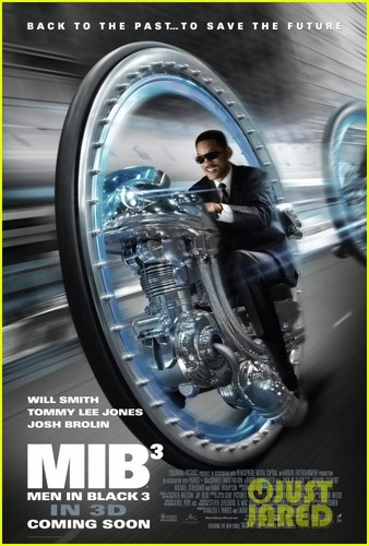Will Smith: New 'Men in Black 3' Clip & Poster!