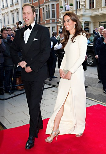 William and Kate 2012 The 30 Club makan malam, majlis makan malam