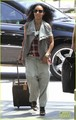 Willow Smith Catches a Flight at LAX with Mom &amp; Dad - willow-smith photo