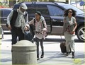 Willow Smith Catches a Flight at LAX with Mom & Dad - willow-smith photo