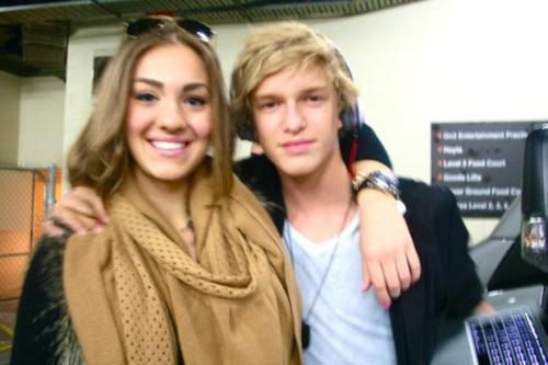 Yasmin Baildon and Cody Simpson