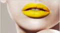 Yellow Lips - lips photo