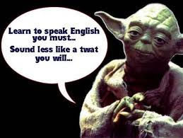 Yoda Engilish