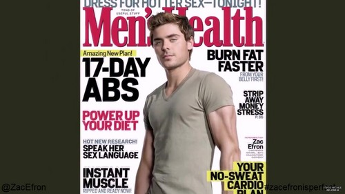 ZAC EFRON'S PHOTOSHOOT FOR MEN'S HEALTH
