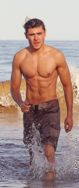 Zac Efron wallpaper possibly with swimming trunks, a hunk, and a bagnante entitled Zac Efron