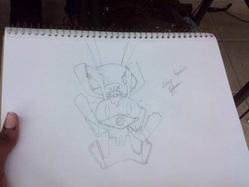 ZelUp-bunny fanart