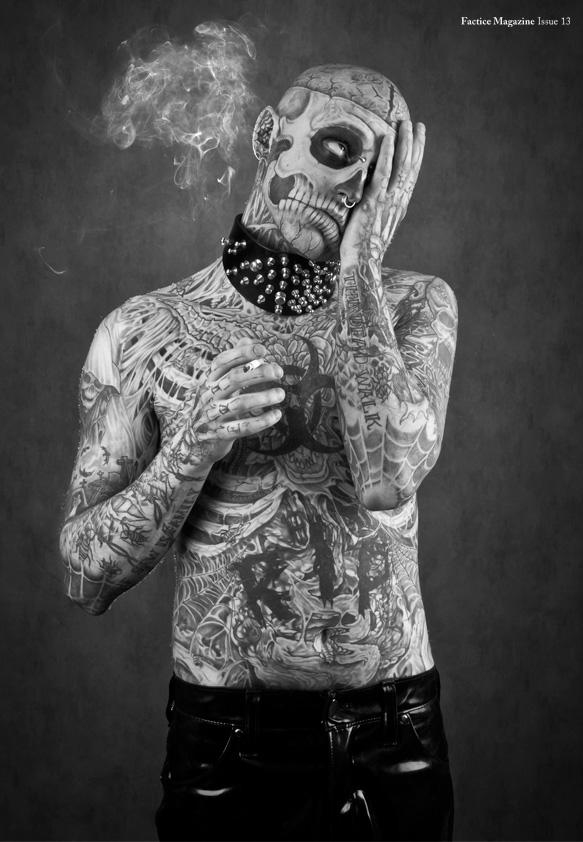 rick genest zombie boy - photo #6