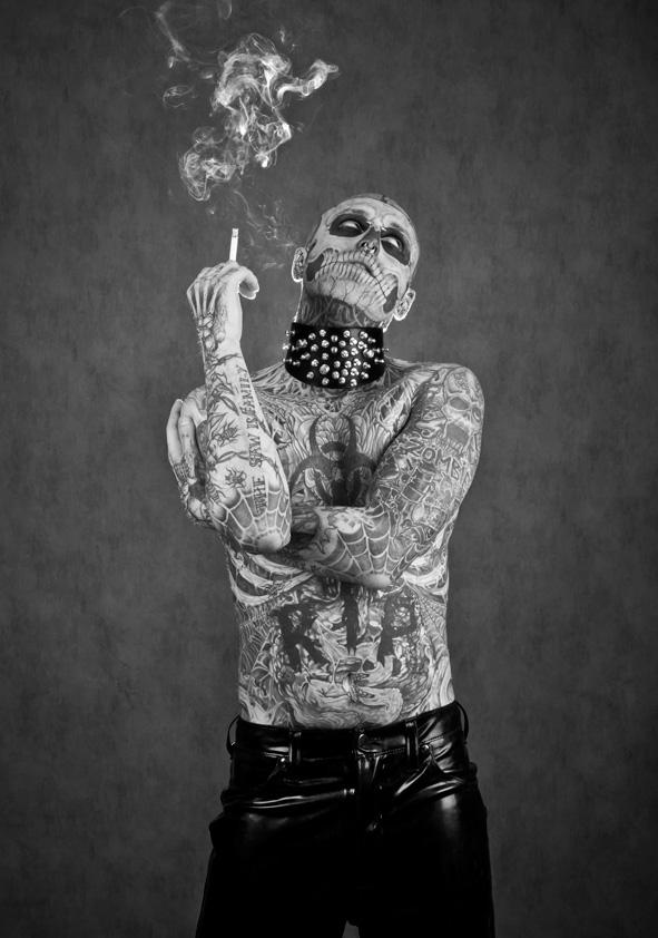 rick genest zombie boy - photo #9