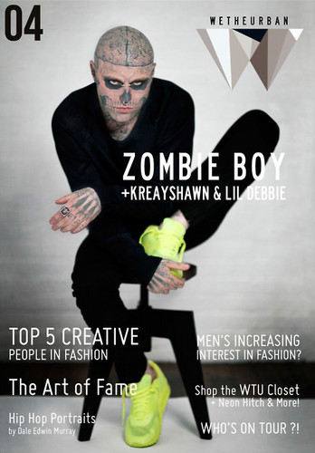 Zombie Boy for We The Urban #4